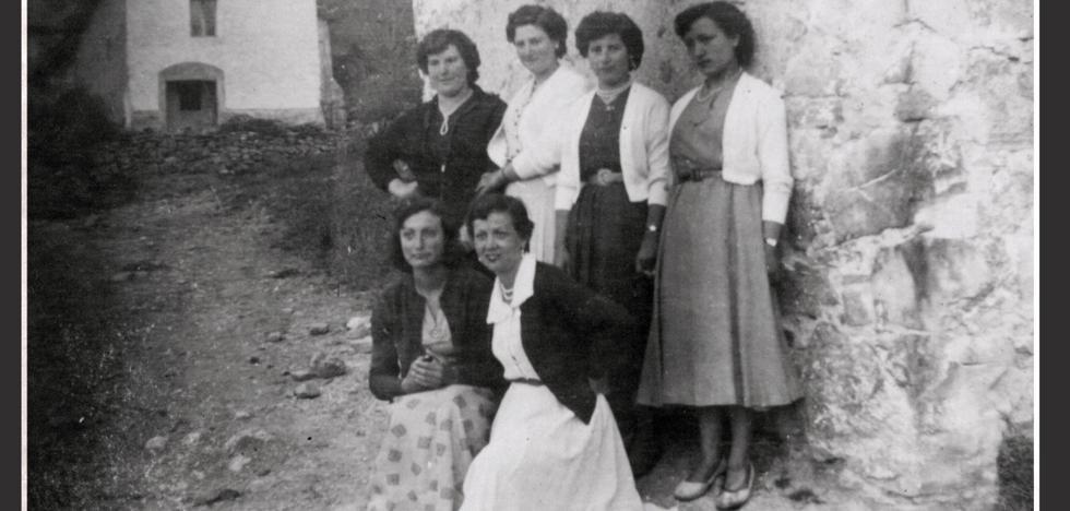La Retina: jóvenes de Anguta en los años 50
