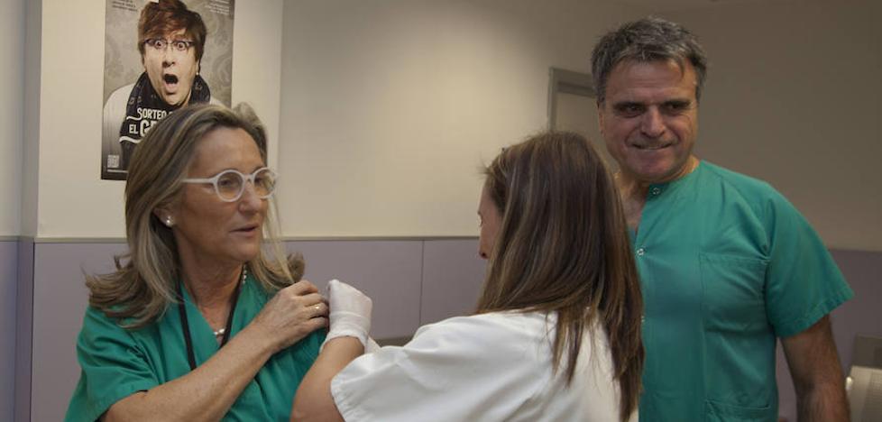 La campaña de vacunación antigripal ha inmunizado ya a 36.428 personas, el 6 % más