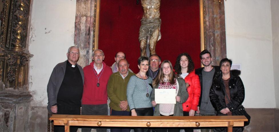 El grupo teatral Bambalina colabora en la restauración de una talla del siglo XVI