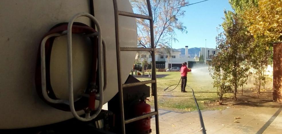 Arnedo toma agua de la superficie del Cidacos para su pozo de captación