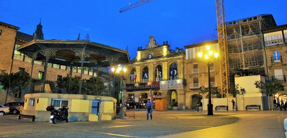 La plaza de la Paz, manos a la obra