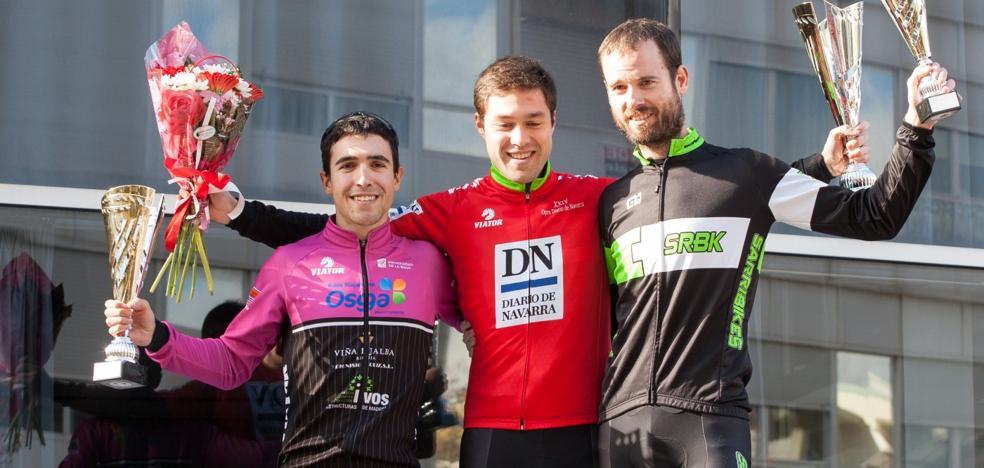 Los riojanos conquistan nueve podios en el 'Open BTT Diario de Navarra'