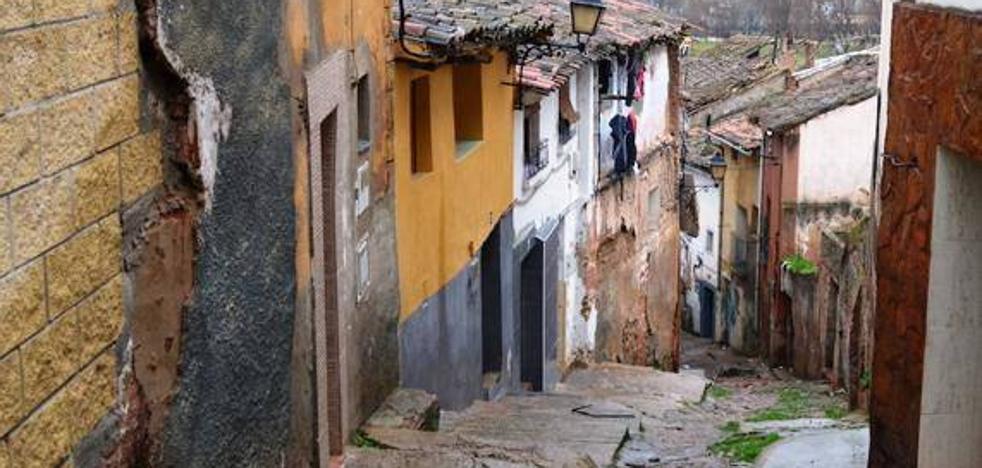 Una denuncia del casco viejo de Calahorra, ganadora de un trabajo en el Valle del Cidacos