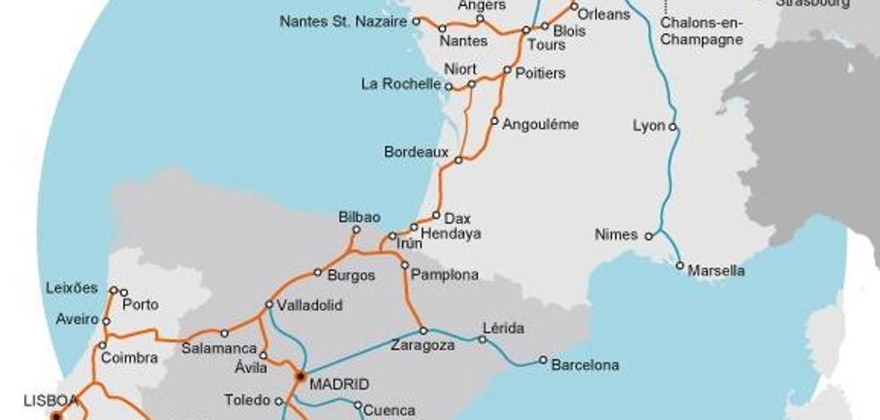 El PR+ asegura que Fomento «potencia un corredor ferroviario que deja fuera a La Rioja»
