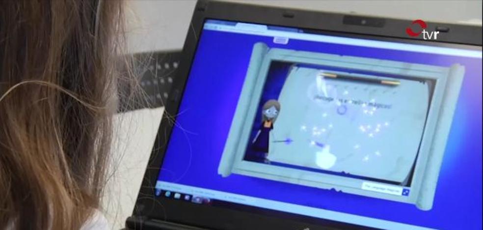 Seis colegios riojanos testan un videojuego para aprender idiomas que se ofrecerá a los centros europeos