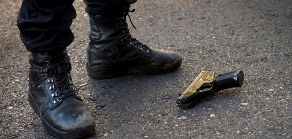 Detenido un hombre tras un atraco con rehenes en Madrid