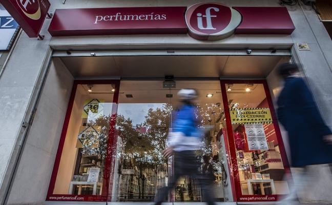 El Grupo Eroski cierra las perfumerías If de avenida de La Paz y Pérez Galdós