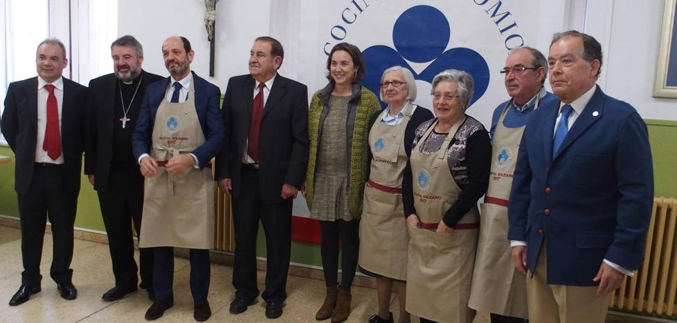 La Cocina Económica entrega los 'Delantales Solidarios'