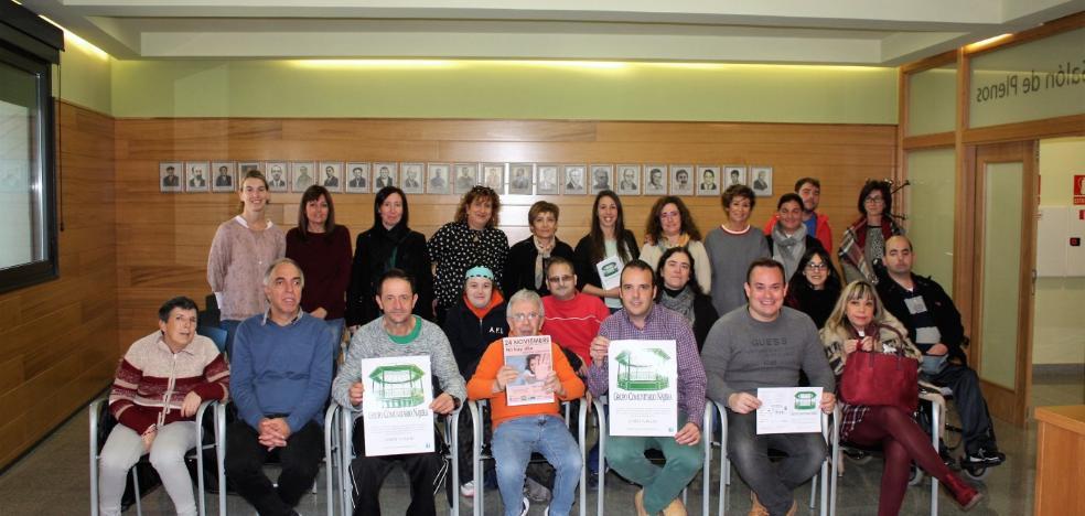 El Grupo Comunitario Nájera invita al acto contra la violencia de género el día 24
