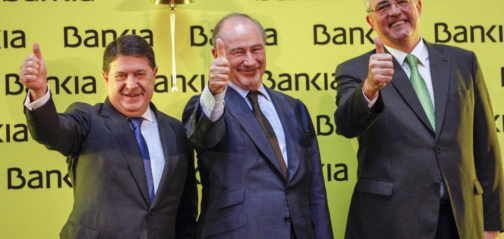 El juez lleva al banquillo a Rato, su cúpula, la auditora y Bankia por la salida a Bolsa