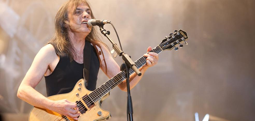 AC/DC pierde a su guitarrista Malcolm Young