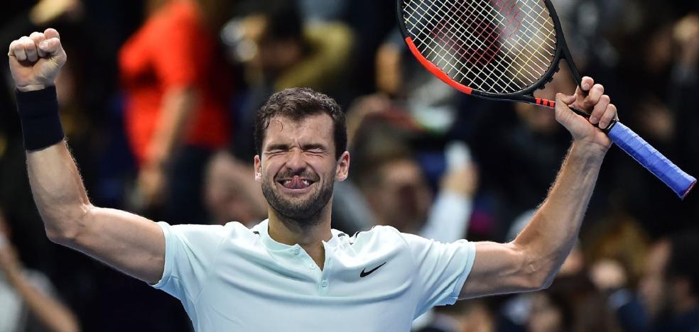 Goffin-Dimitrov, final inédita del Masters
