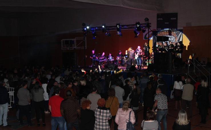Concierto solidario Motxila en Calahorra