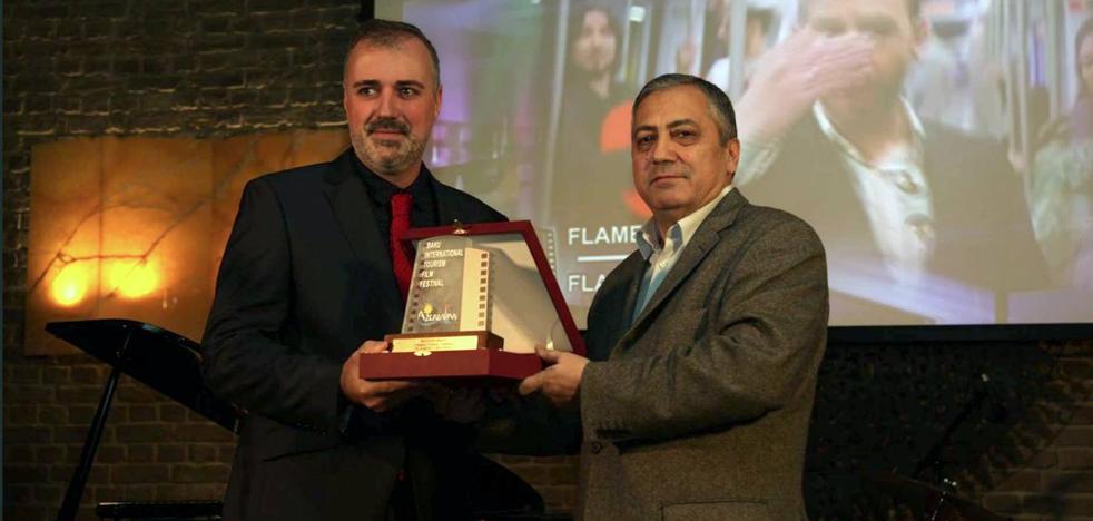 Azerbaiyán premia al logroñés Santiago Alcázar