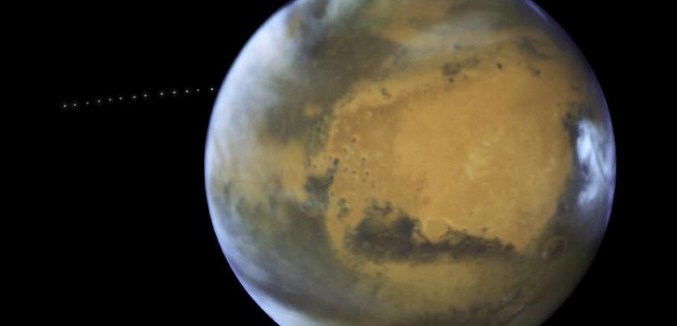 Los riachuelos de Marte son en realidad corrientes de arena