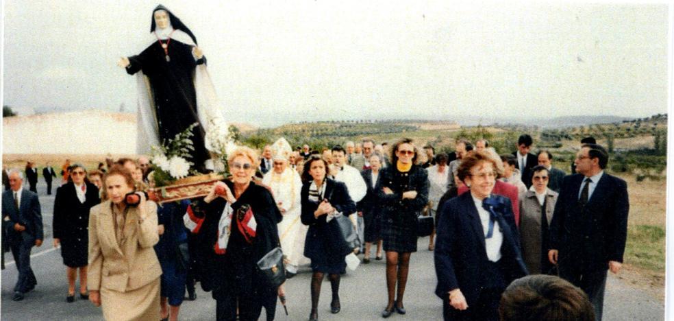 La Retina: devoción por Santa Teresa en Galilea