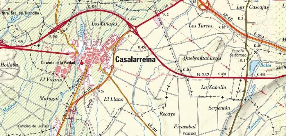 158.656 euros para acondicionar la travesía de la LR-311 en Casalarreina