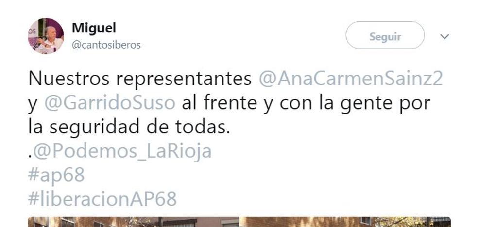 La foto de Podemos se parte en dos