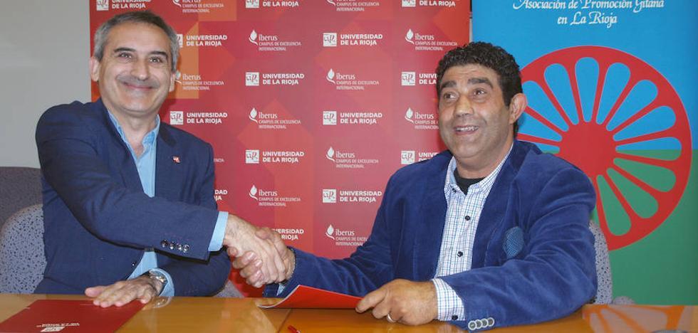 La UR y la Asociación de Promoción Gitana realizarán actividades culturales, científicas y académicas