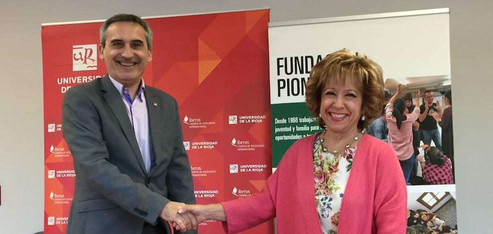La UR y Pioneros firman un convenio de colaboración