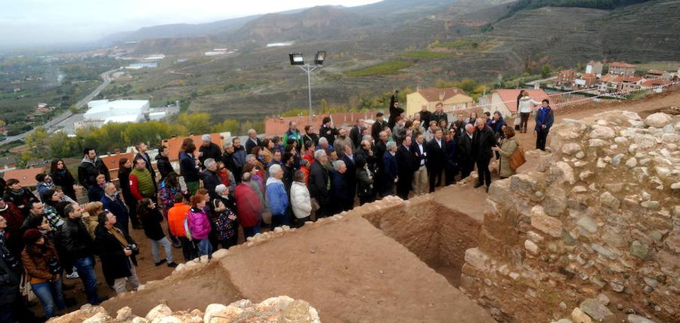 El Castillo de Nalda culmina los trabajos en el perímetro y pasará a trabajar el interior en el 2018