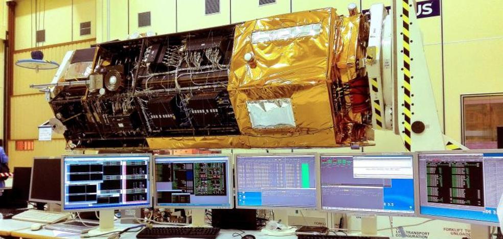 El satélite español Paz, listo para empezar a escanear la Tierra