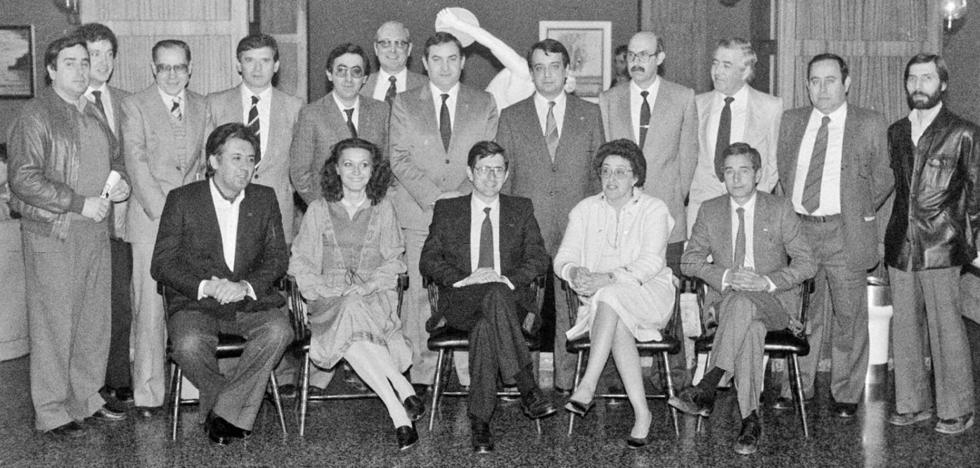 La Retina: candidatura logroñesa de AP en los 80