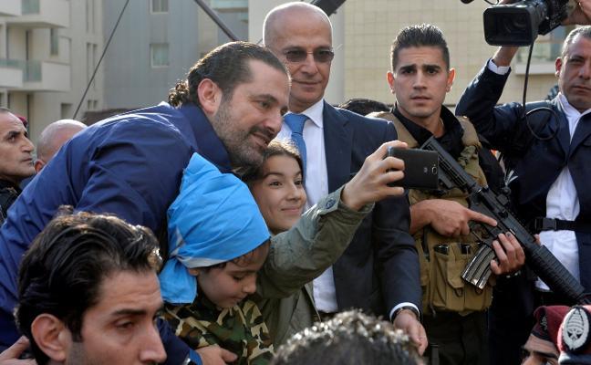 Líbano celebra el regreso de su primer ministro