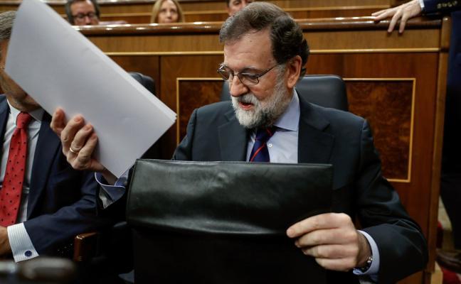 Rajoy garantiza que hablará con una Generalitat secesionista si respeta la ley