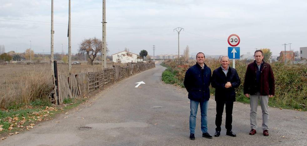 El Camino Viejo de Lardero pasa a ser de un único carril en sentido Lardero-Logroño