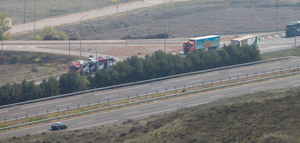 La aprobación del desvío de camiones a la AP-68 se retrasa una semana