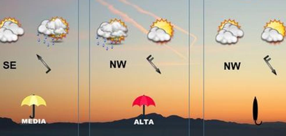 Cambia el tiempo, más frío y alguna precipitación