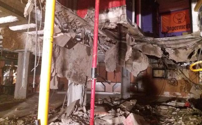 Heridas 40 personas al ceder el suelo de una discoteca de Tenerife