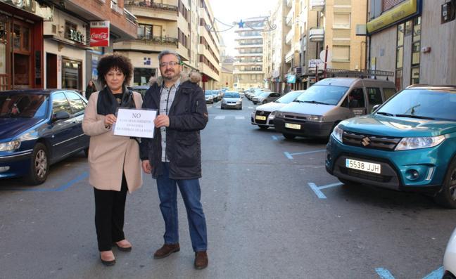 La avenida de La Rioja tendrá aceras anchas y los aparcamientos de nuevo en línea