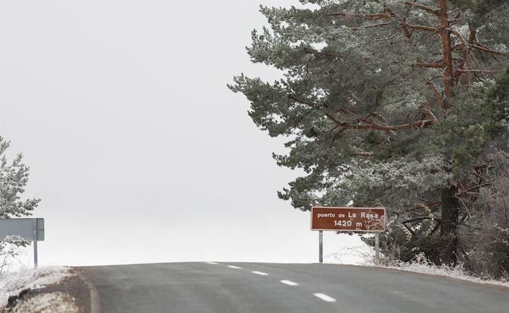 Día de nieve en La Rioja