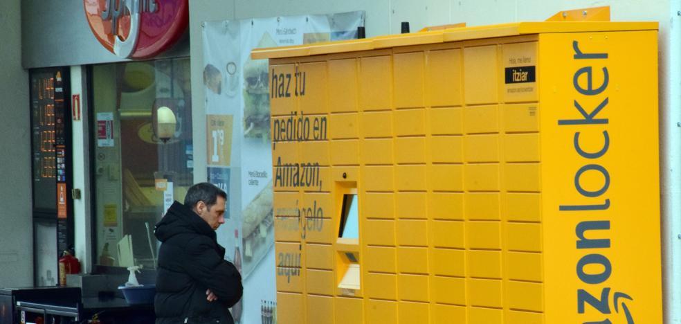 Amazon instala en Logroño una taquilla automática