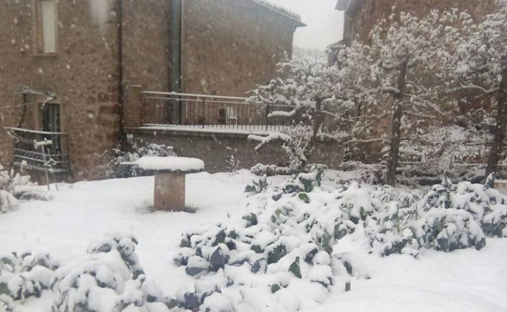 La Rioja nevada de los lectores