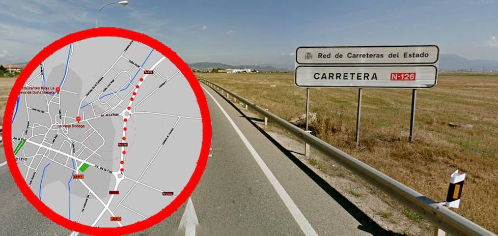 Fomento cede a La Rioja un tramo de la carretera N-126 en Casalarreina