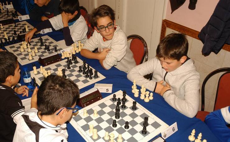 Torneo de ajedrez en Cervera
