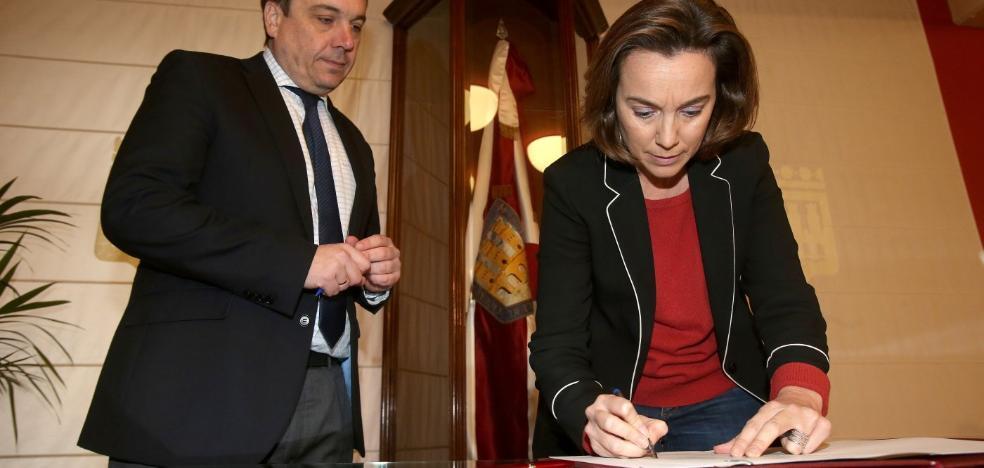 El Ayuntamiento reurbanizará la Glorieta durante los últimos 12 meses de la reforma del IES Sagasta