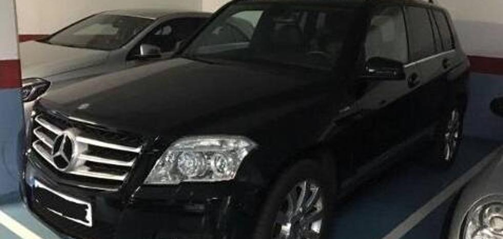 Desarticulada una banda logroñesa especializada en robar Mercedes
