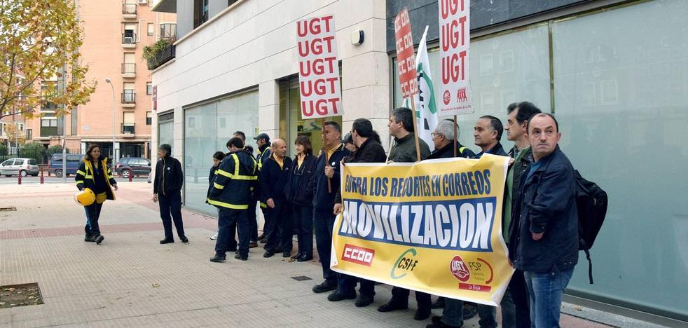 Correos arranca movilizaciones que podrían terminar en huelga