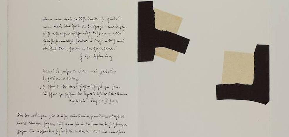 Chillida y Heiddeger se reeencuentran en el Guggenheim