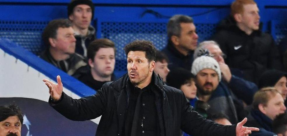 Simeone: «Podía suceder, no es un fracaso»