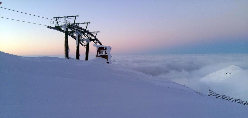 Valdezcaray abre la temporada con 12 pistas abiertas y 7,9 kilómetros esquiables