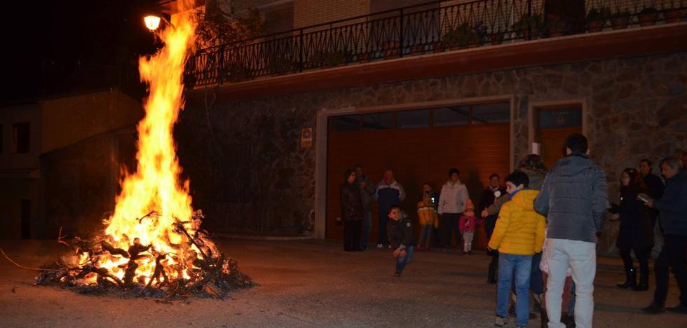 Fuenmayor arde de nuevo en la Fiesta de Los Marchos