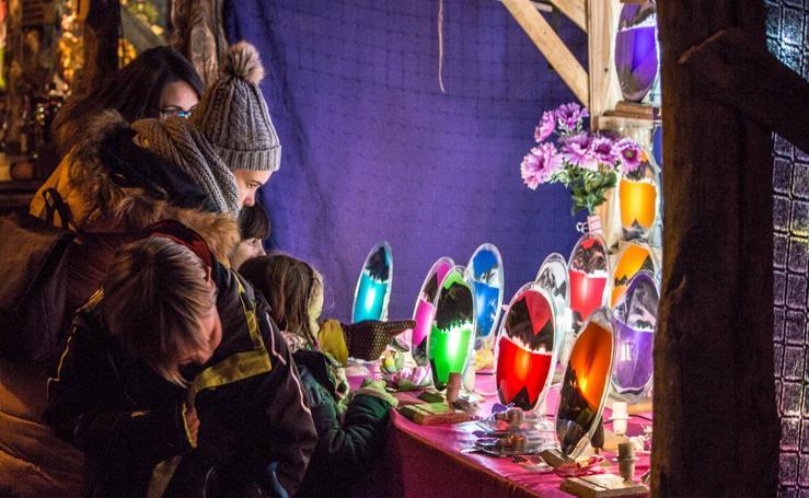 Segunda jornada de las Ferias de la Concepción en Santo Domingo de La Calzada