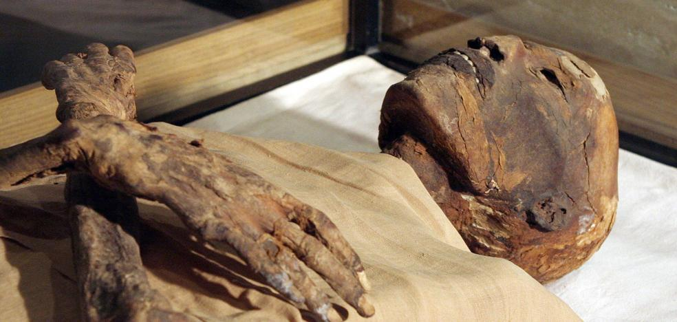 Descubren el caso más antiguo de cáncer en una momia