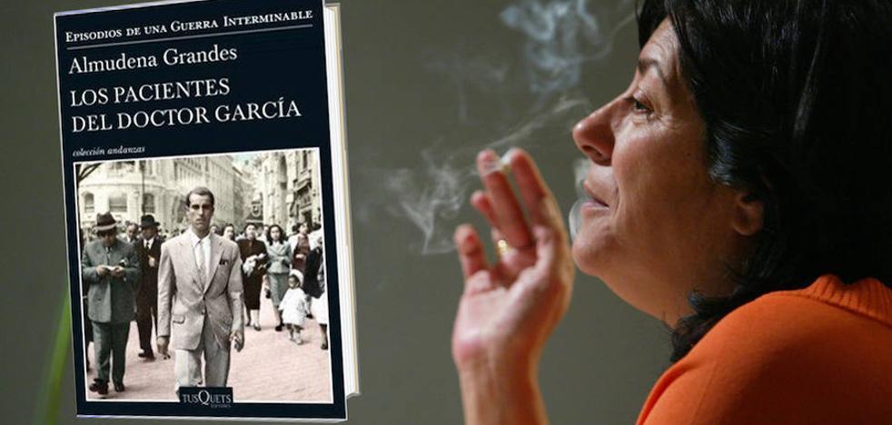 Almudena Grandes presentará el martes su novela 'Los pacientes del doctor García' en Logroño