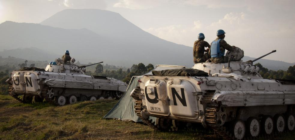 Mueren 14 cascos azules en un ataque en la República Democrática del Congo